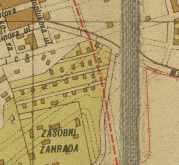 nouzova-kolonie-cervena-skala-1929-mapa