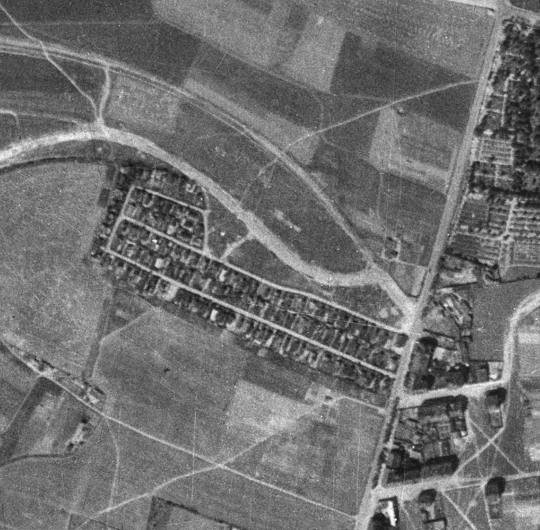 nouzova-kolonie-na-dlouhe-ceste-letecky-snimek-1938