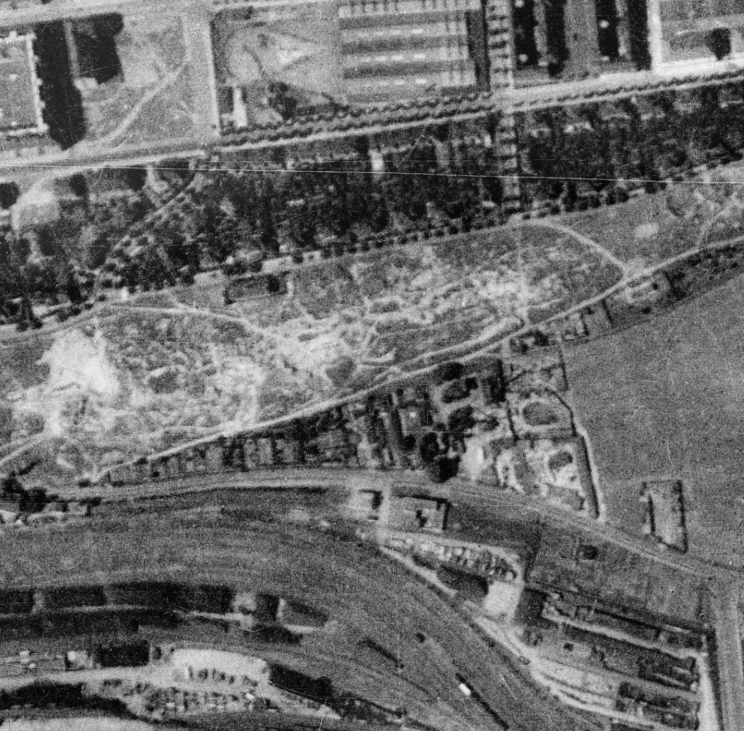 nouzova-kolonie-zidovske-pece-m-letecky-snimek-1938