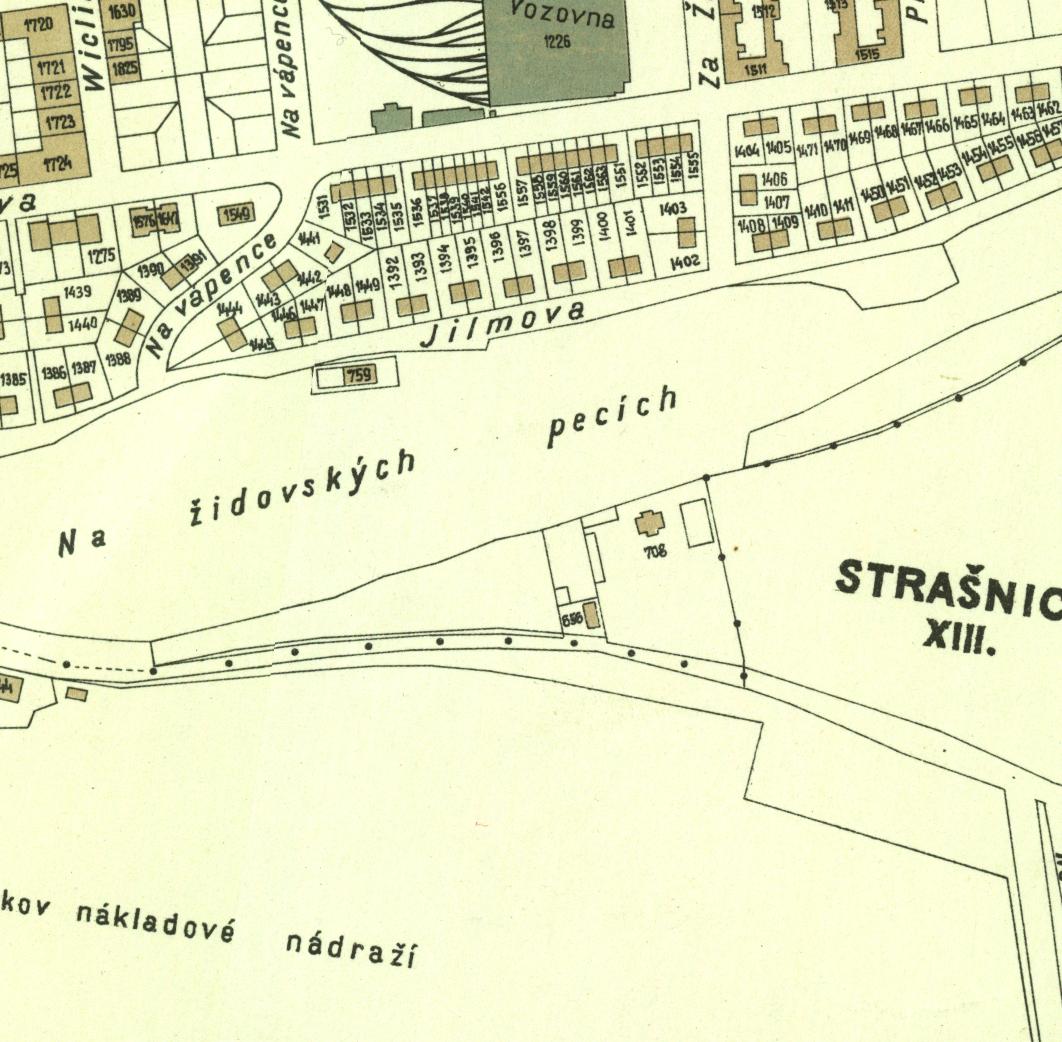 nouzova-kolonie-zidovske-pece-mapa-1938