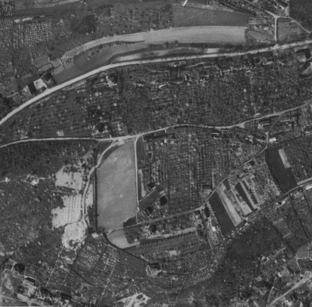 nouzova-kolonie-na-dlazdence-letecky-snimek-1945