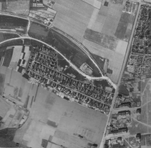 nouzova-kolonie-na-dlouhe-ceste-letecky-snimek-1945