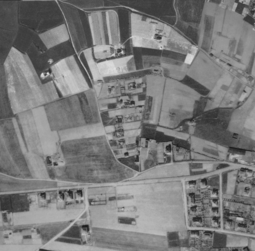 nouzova-kolonie-na-klinku-letecky-snimek-1945
