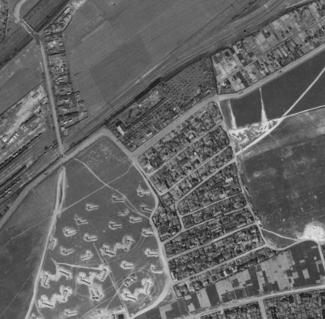 nouzova-kolonie-na-krejcarku-letecky-snimek-1945