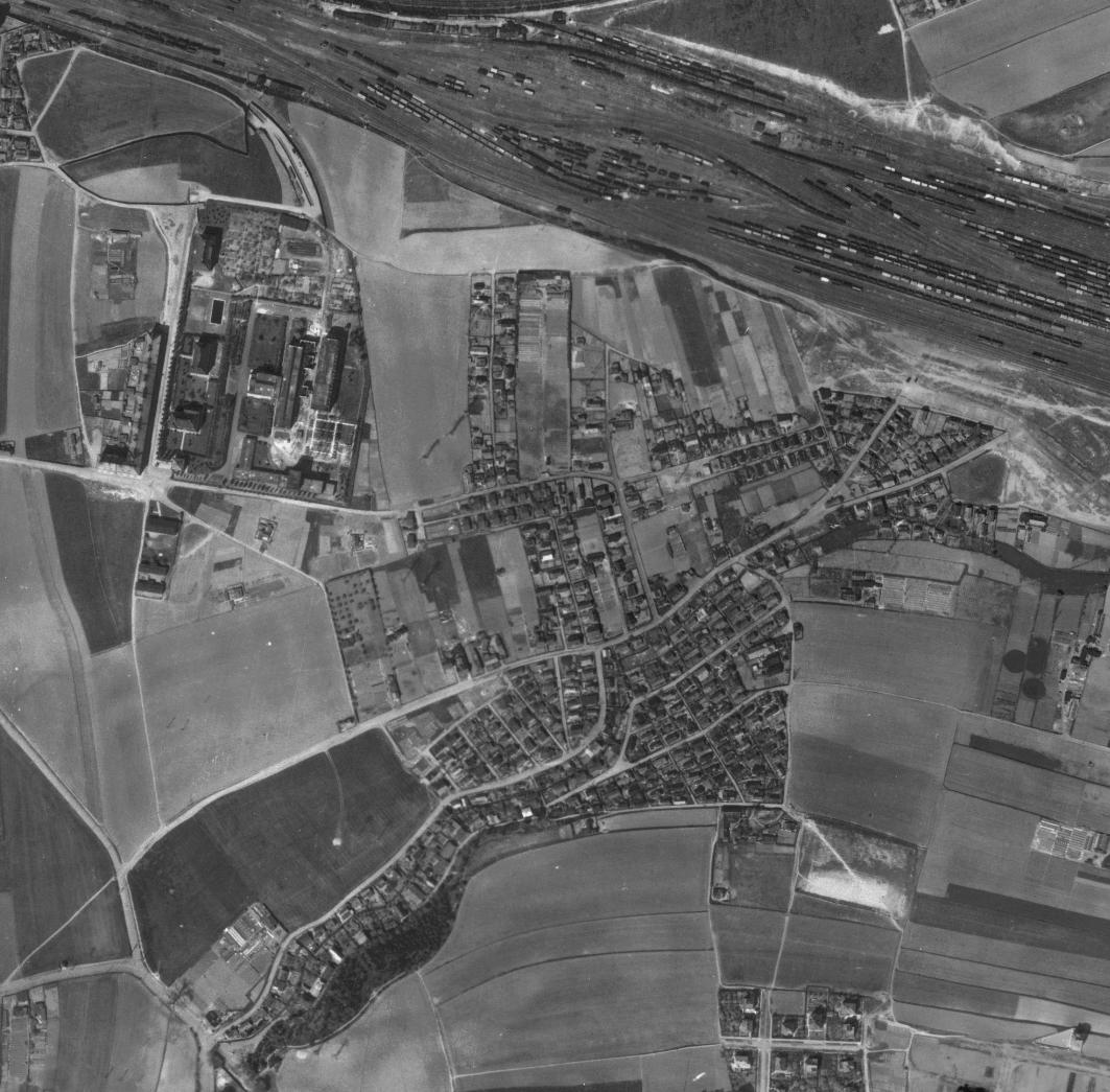 nouzova-kolonie-na-slatinach-letecky-snimek-1945