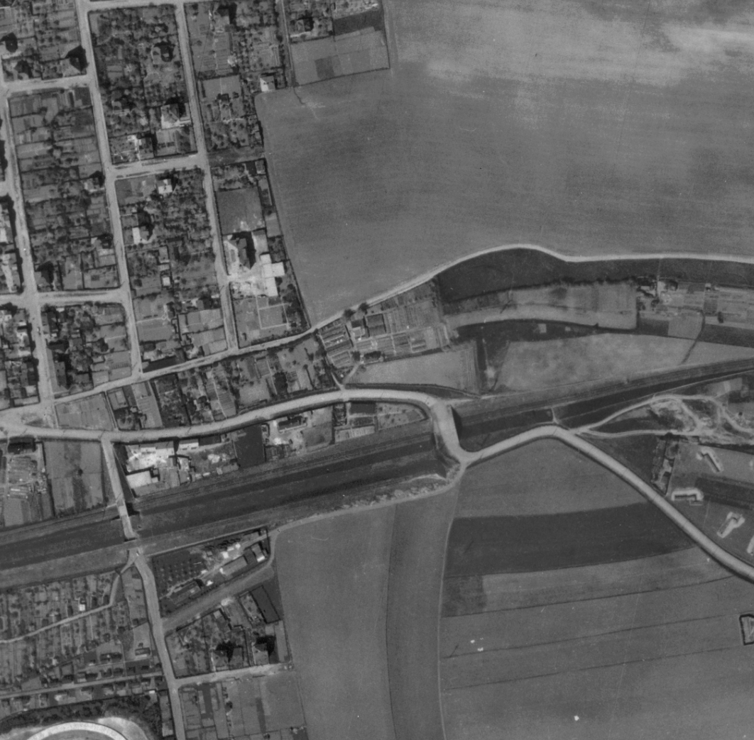nouzova-kolonie-pod-jarovem-letecky-snimek-1945
