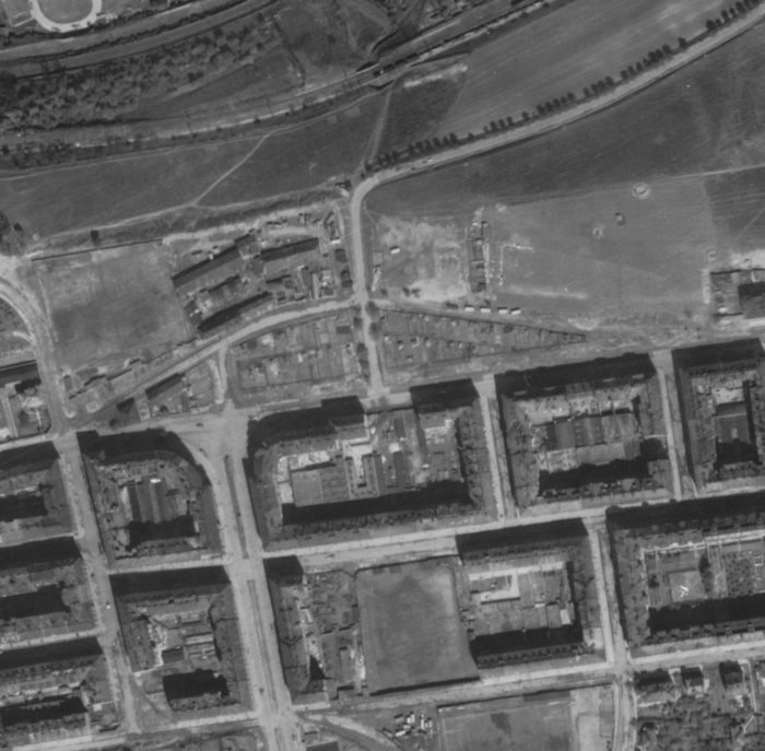 nouzova-kolonie-prazacka-letecky-snimek-1945