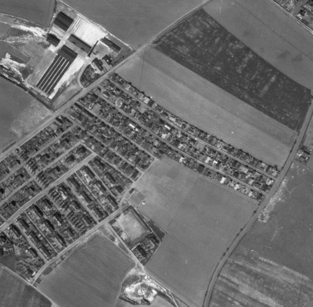 prosecka-nouzova-kolonie-letecky-snimek-1945