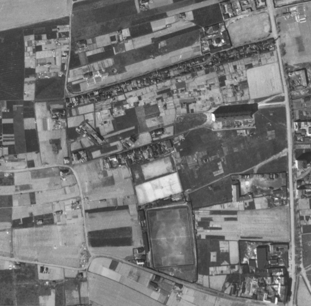 nouzova-kolonie-u-druzstva-klid-letecky-snimek-1945