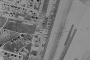nouzova-kolonie-u-fortovny-letecky-snimek-1945