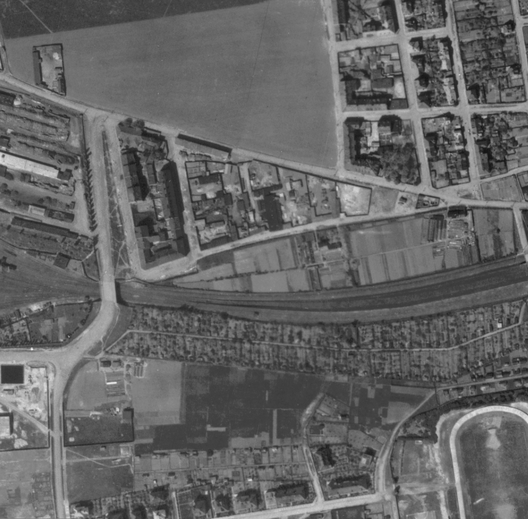 nouzova-kolonie-viktorka-letecky-snimek-1945
