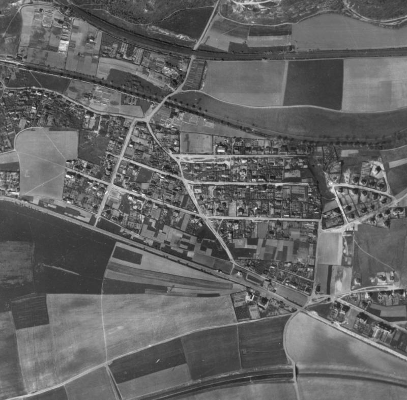nouzova-kolonie-za-horou-letecky-snimek-1945