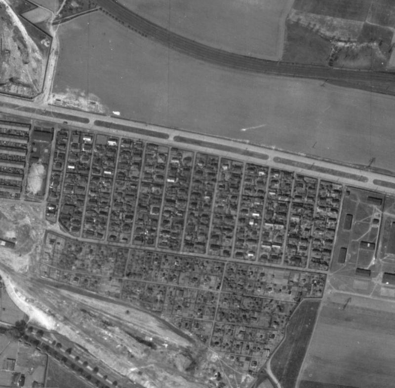 nouzova-kolonie-cina-letecky-snimek-1945