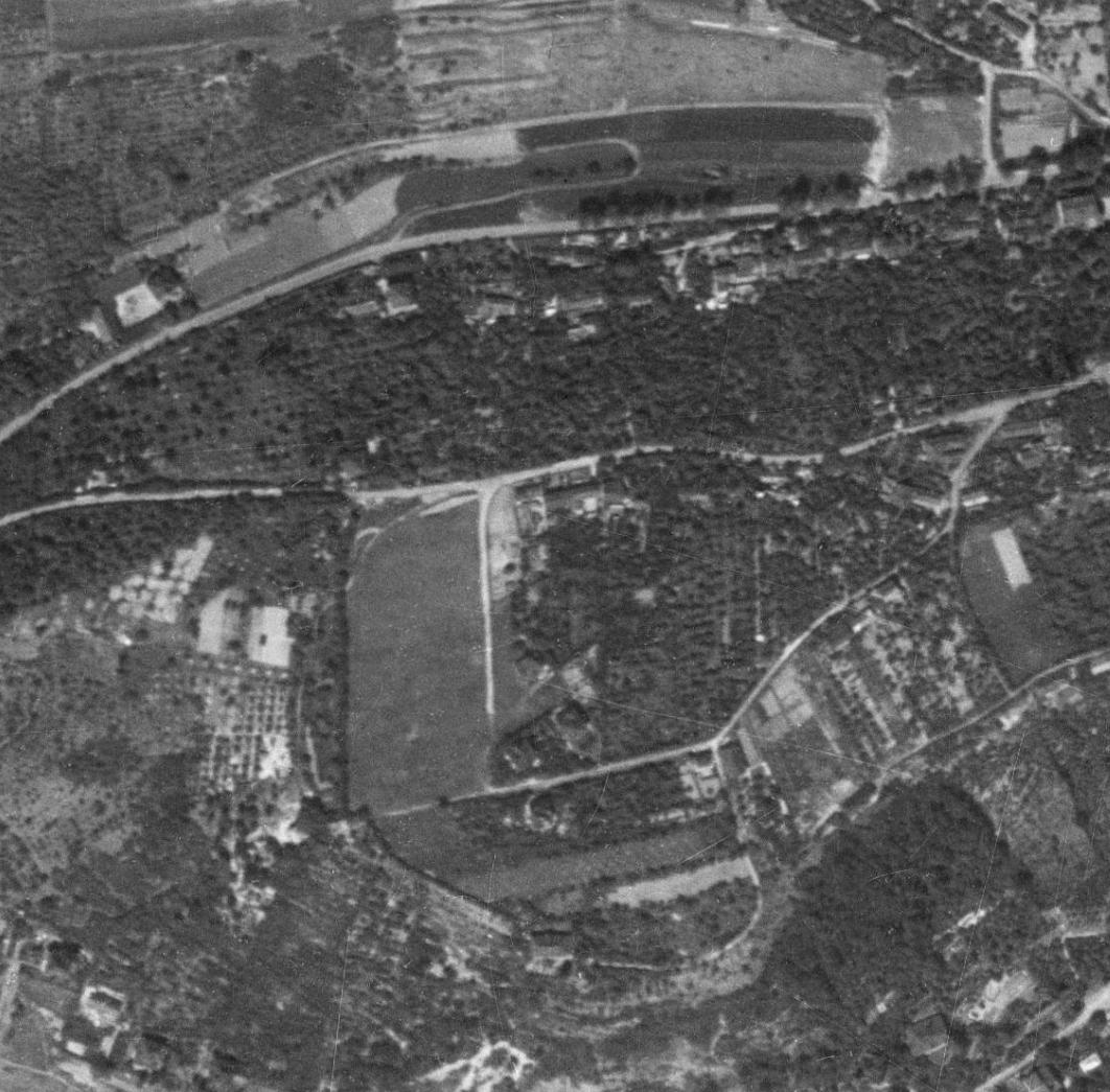 nouzova-kolonie-na-dlazdence-letecky-snimek-1953