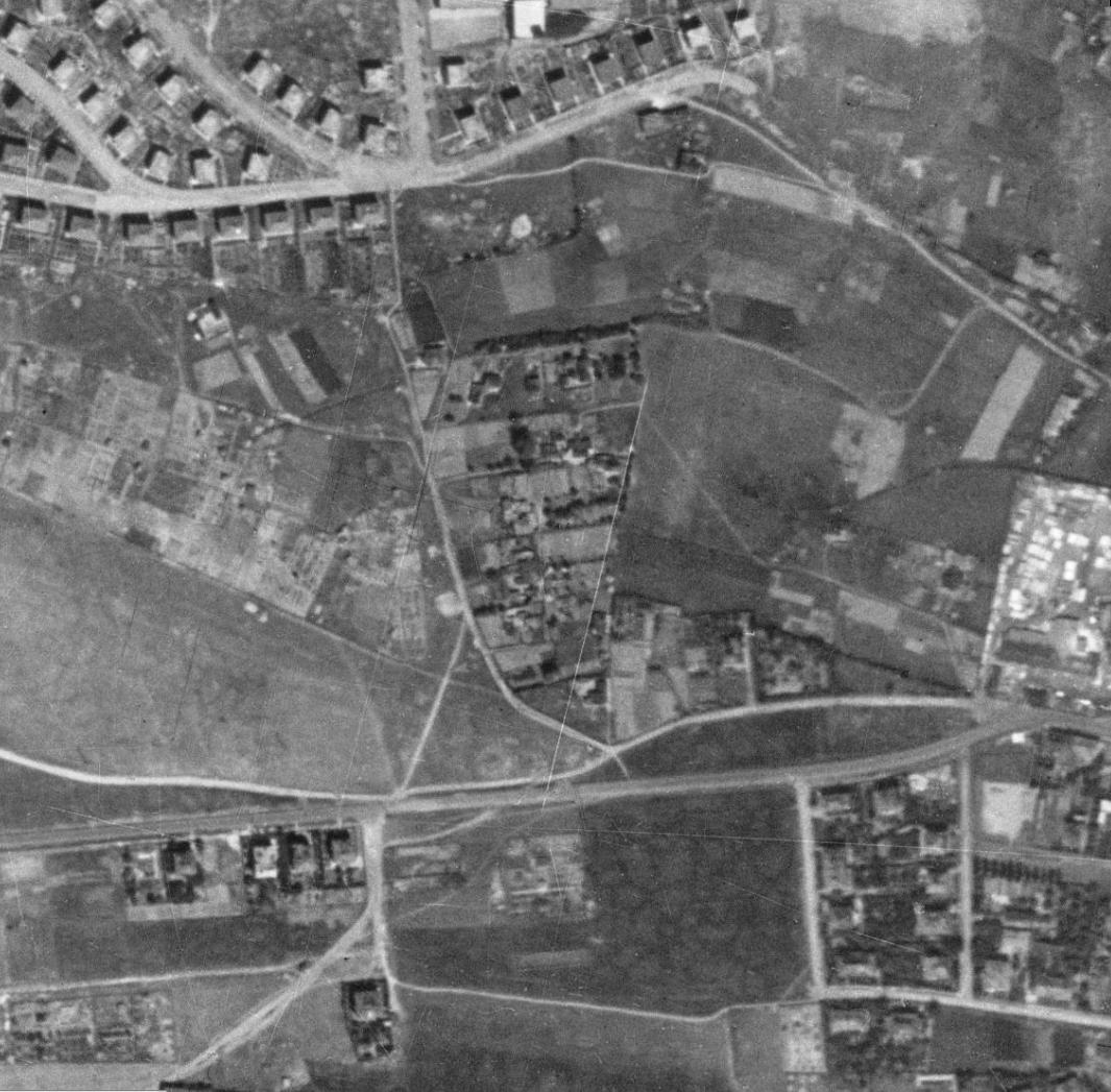 nouzova-kolonie-na-klinku-letecky-snimek-1953