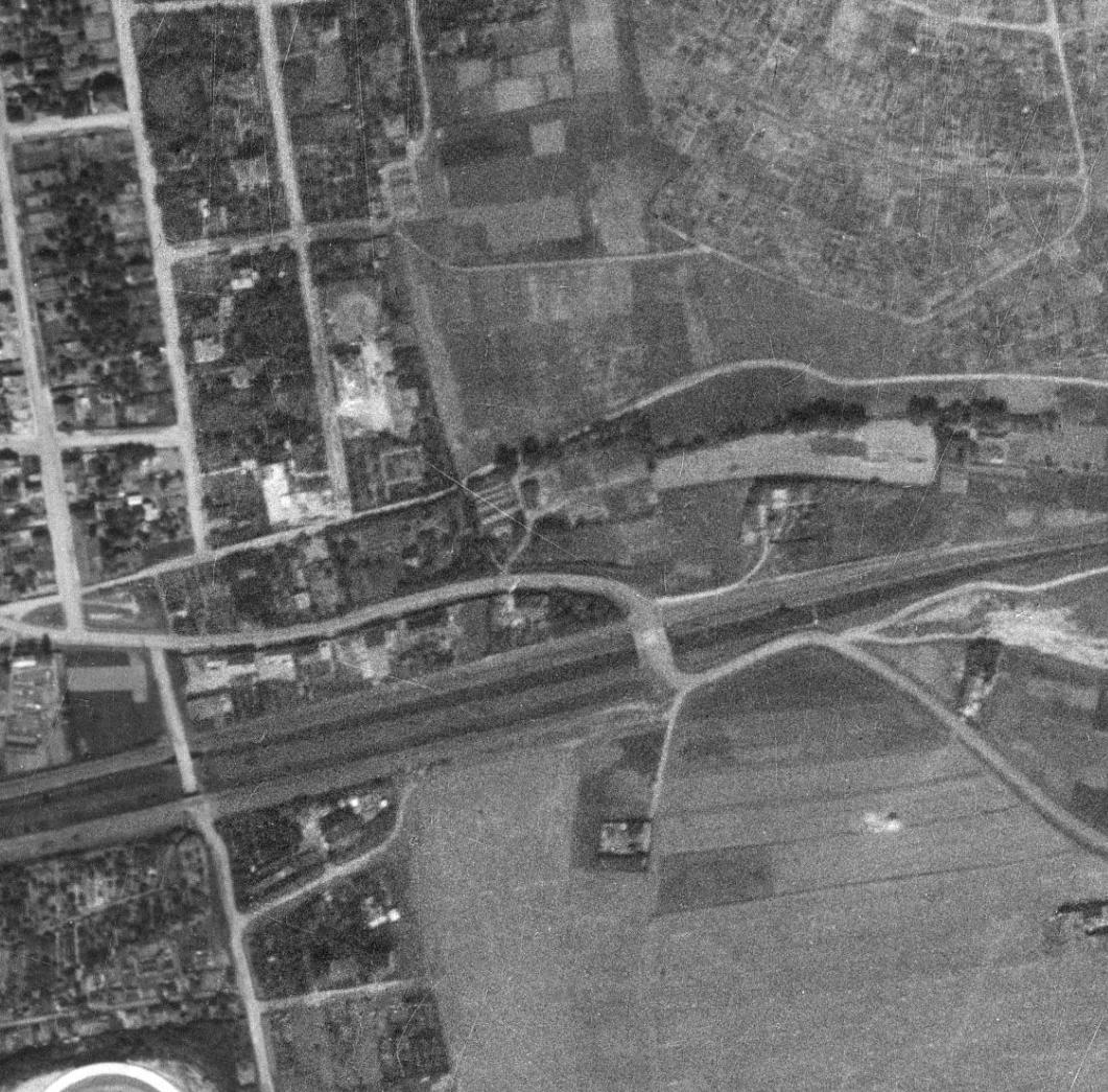 nouzova-kolonie-pod-jarovem-letecky-snimek-1953