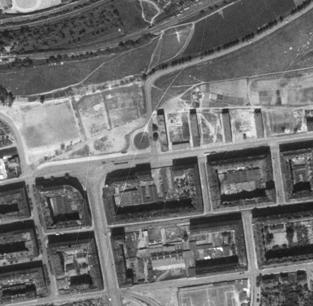 nouzova-kolonie-prazacka-letecky-snimek-1953