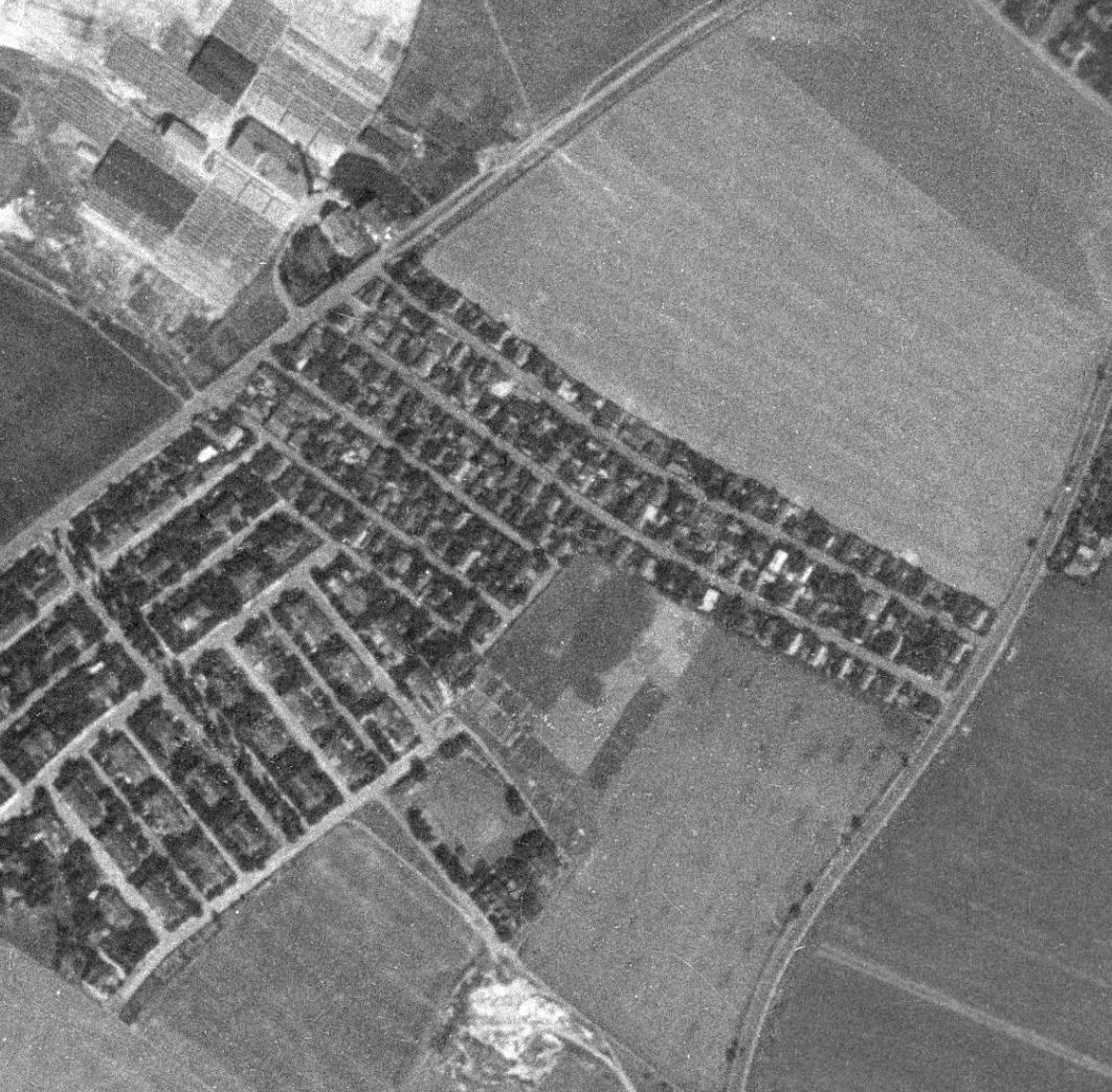 prosecka-nouzova-kolonie-letecky-snimek-1953
