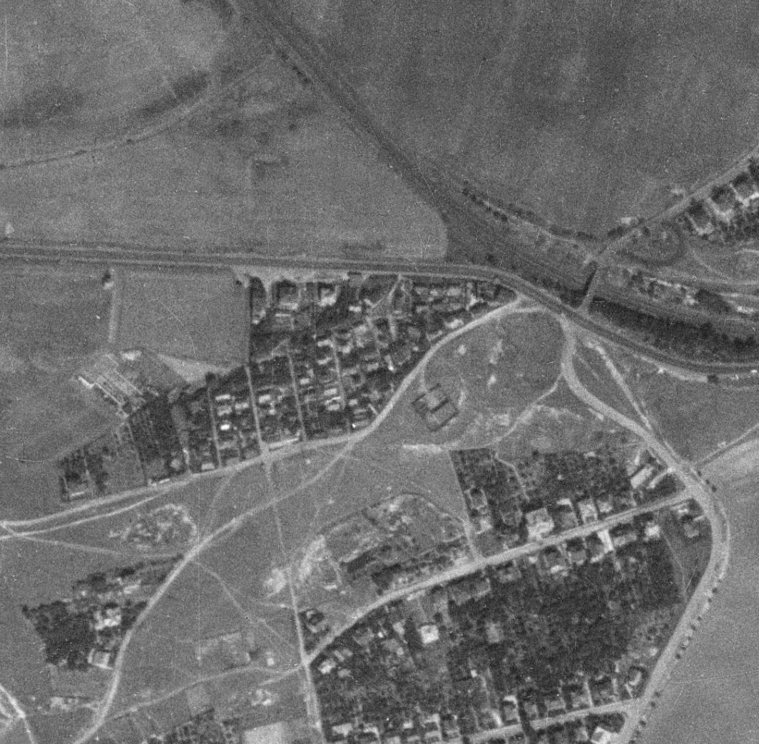 ouzova-kolonie-u-potravni-dane-letecky-snimek-1953