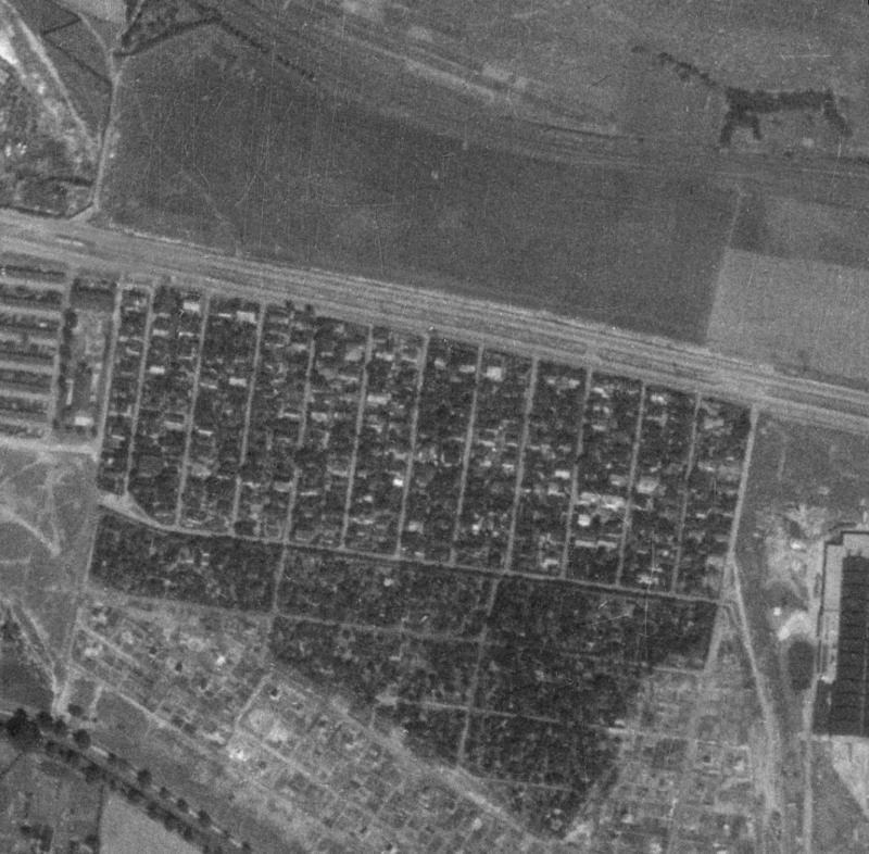 nouzova-kolonie-cina-letecky-snimek-1953