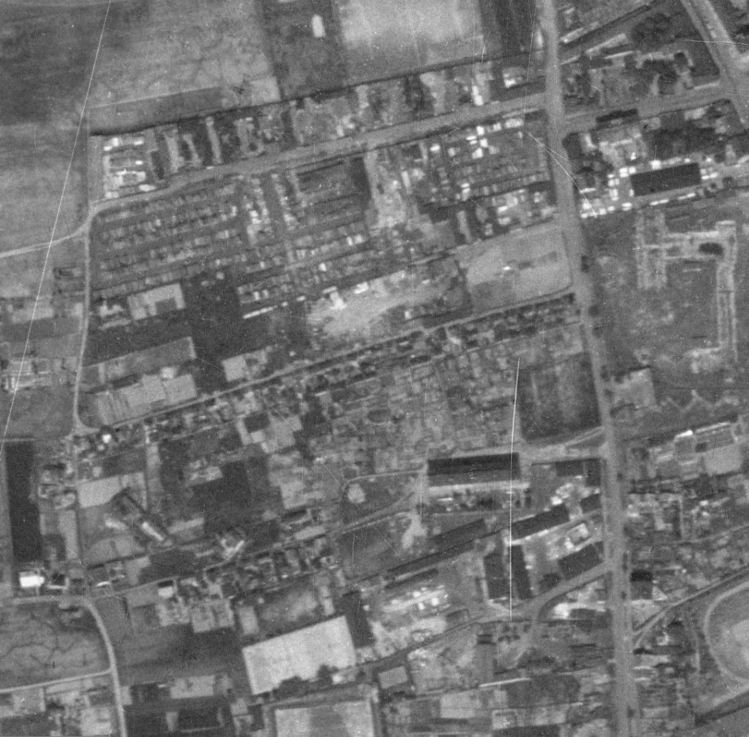 nouzova-kolonie-na-dekance-letecky-snimek-1953