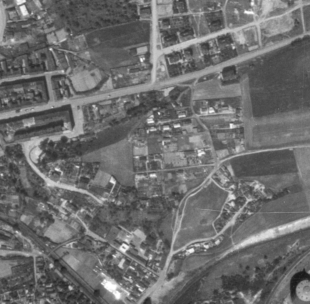 nouzova-kolonie-labutka-letecky-snimek-1953