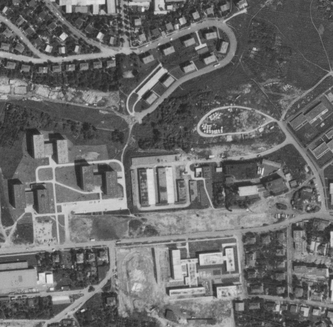 nouzova-kolonie-na-klinku-letecky-snimek-1975