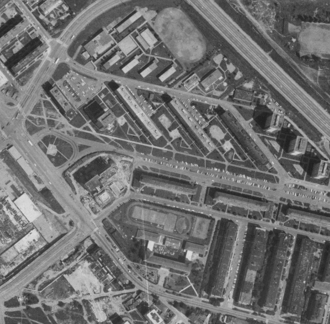 nouzova-kolonie-na-kopecku-letecky-snimek-1975