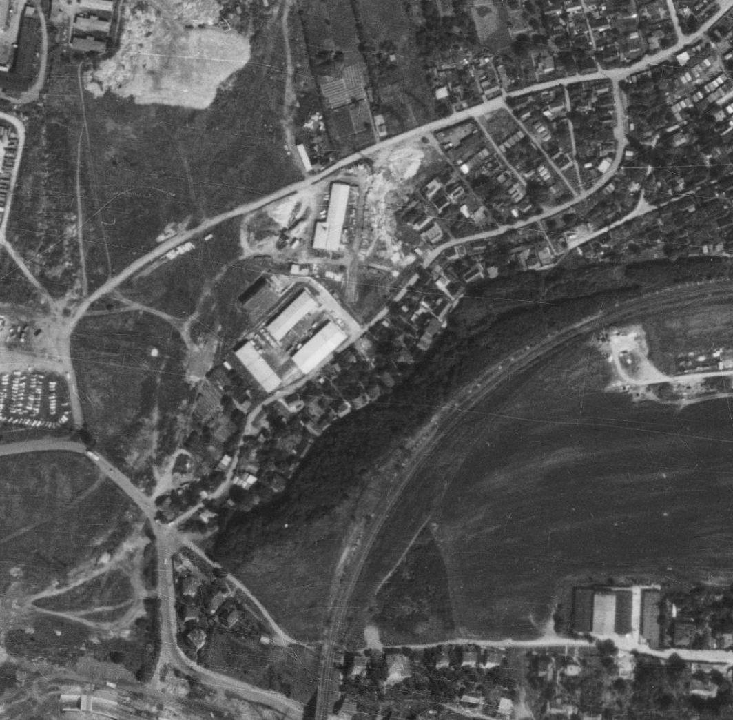 nouzova-kolonie-pod-lesikem-letecky-snimek-1975