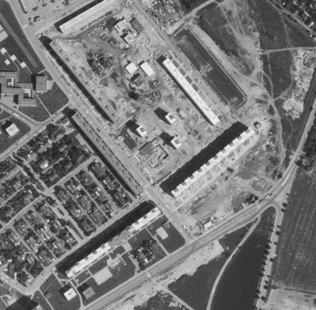 prosecka-nouzova-kolonie-letecky-snimek-1975