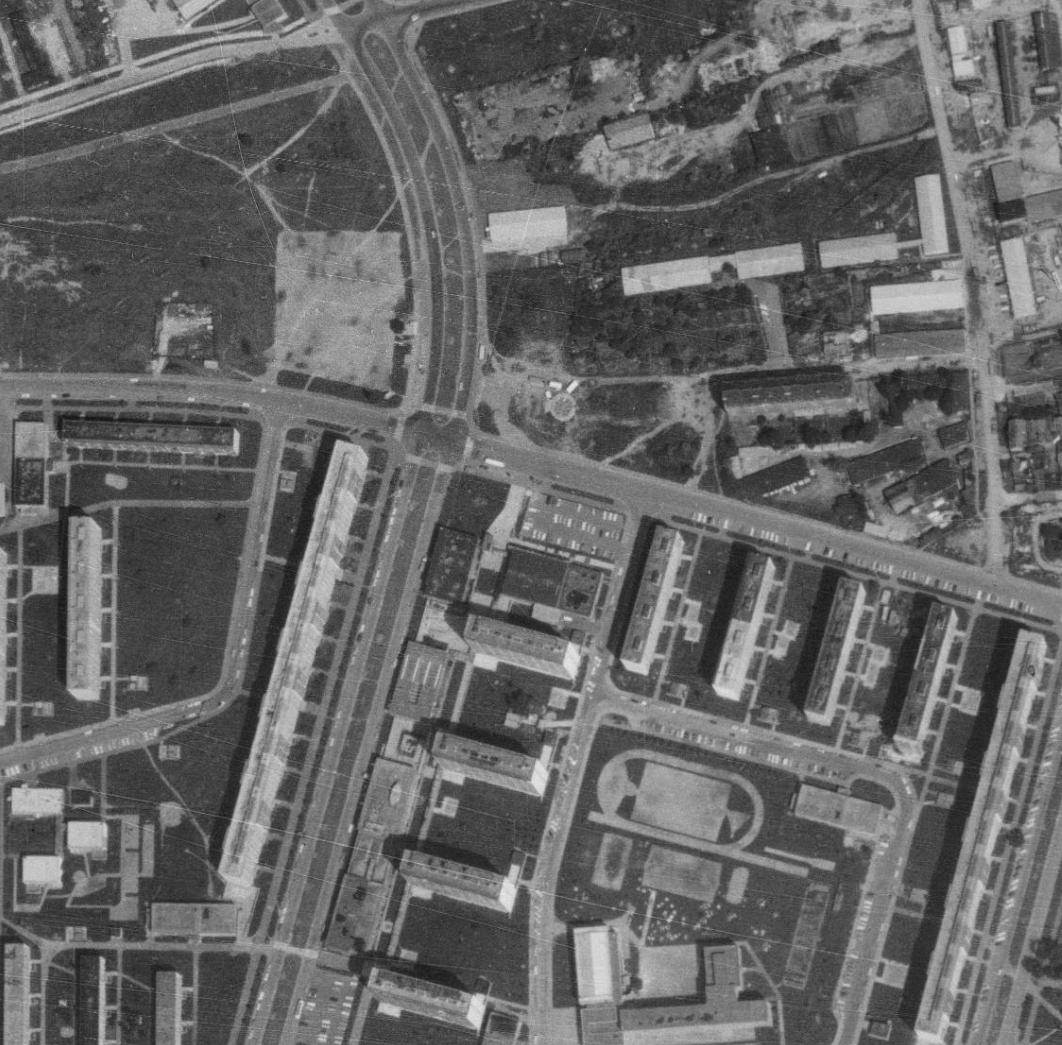 nouzova-kolonie-u-druzstva-klid-letecky-snimek-1975
