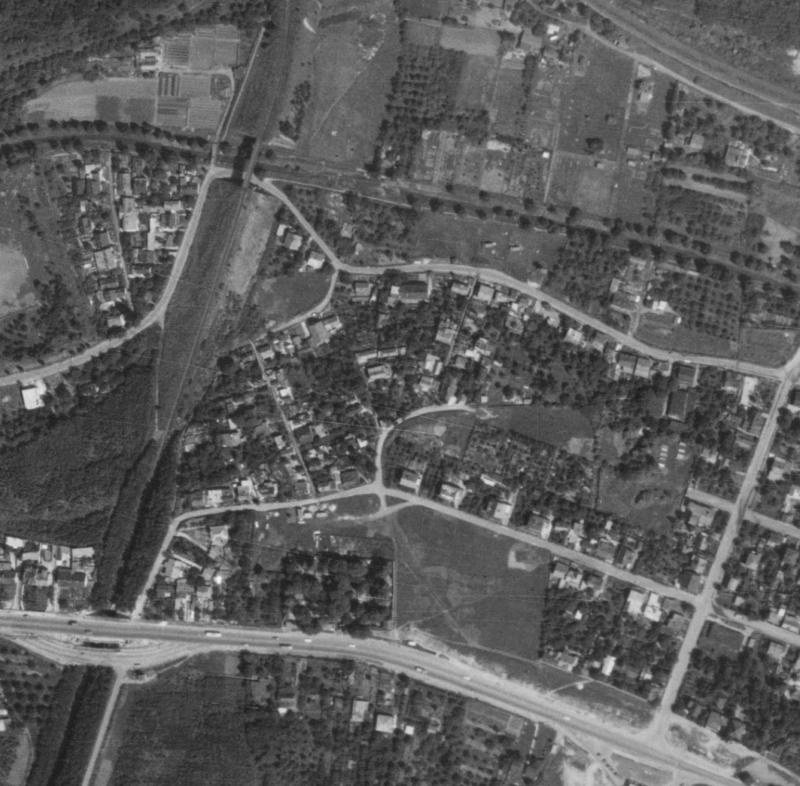 nouzova-kolonie-za-mostem-letecky-snimek-1975