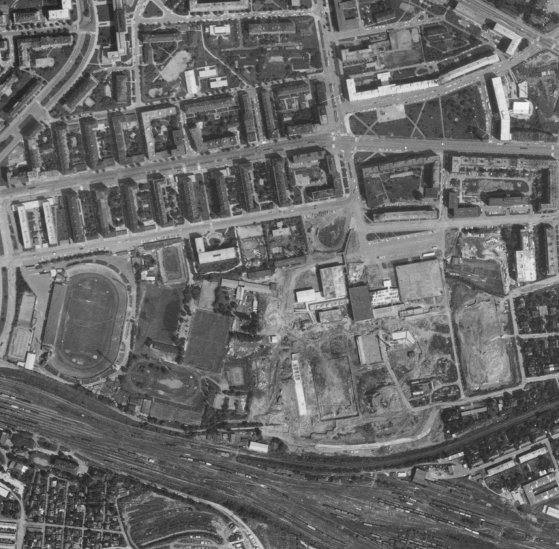nouzova-kolonie-zahradky-letecky-snimek-1975