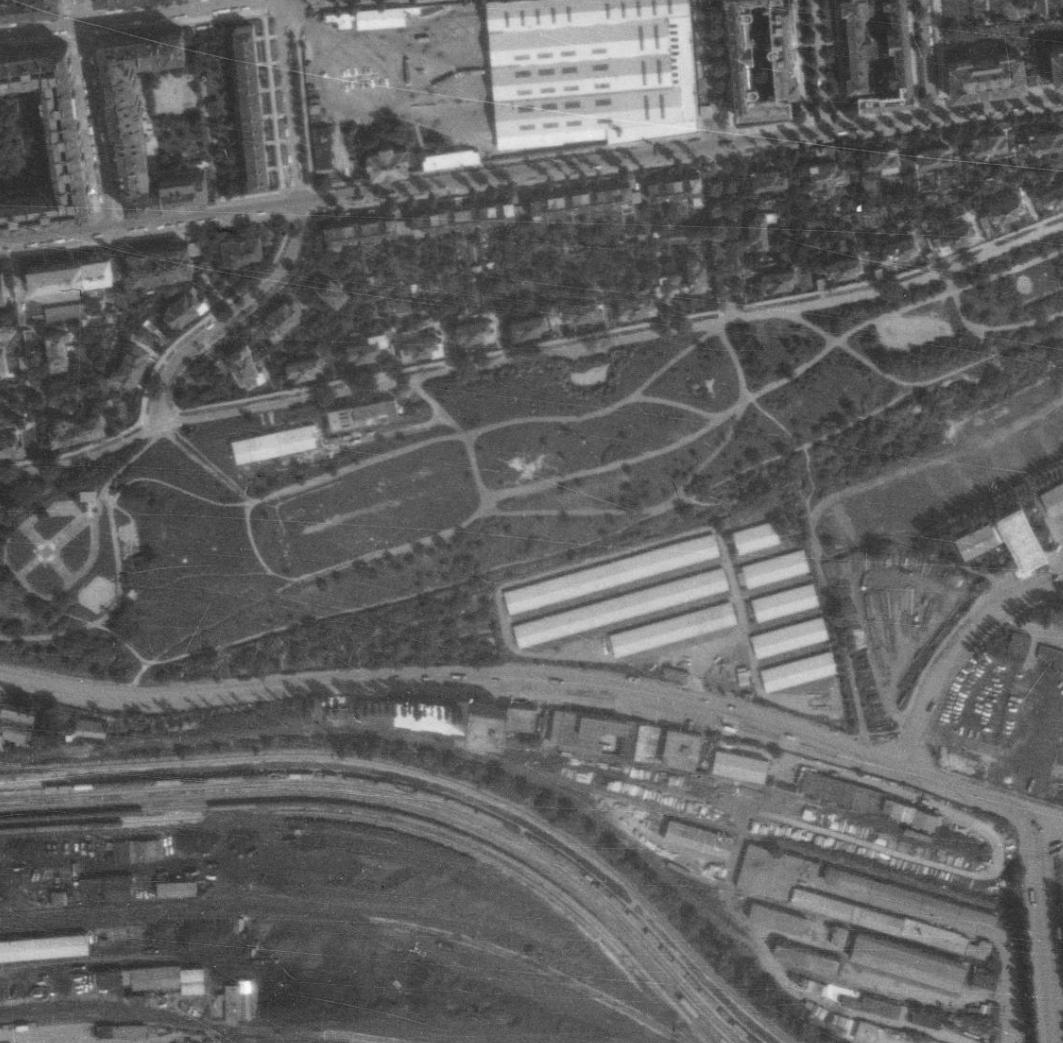 nouzova-kolonie-zidovske-pece-m-letecky-snimek-1975
