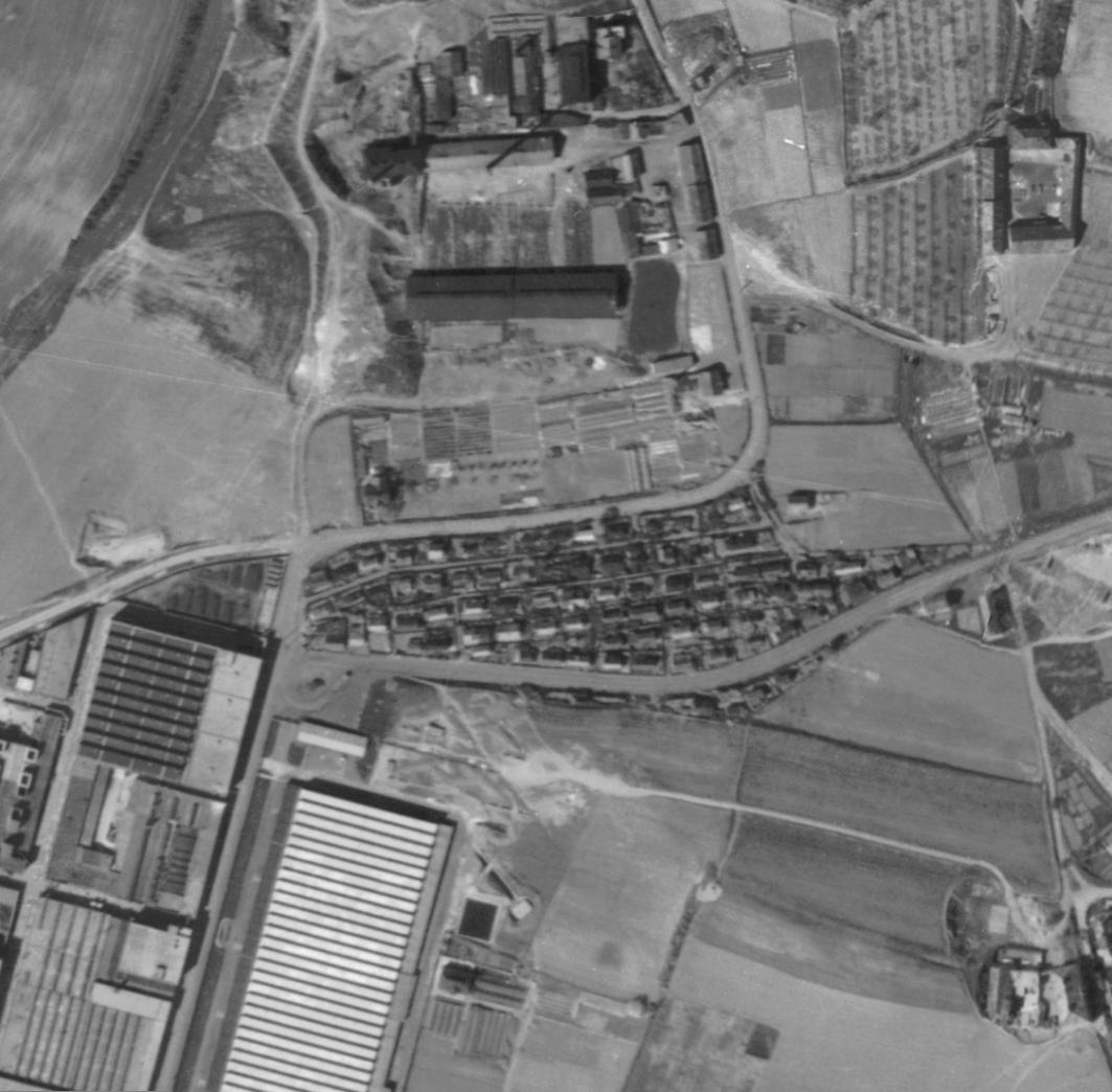 nouzova-kolonie-u-bulovky-letecky-snimek-1945