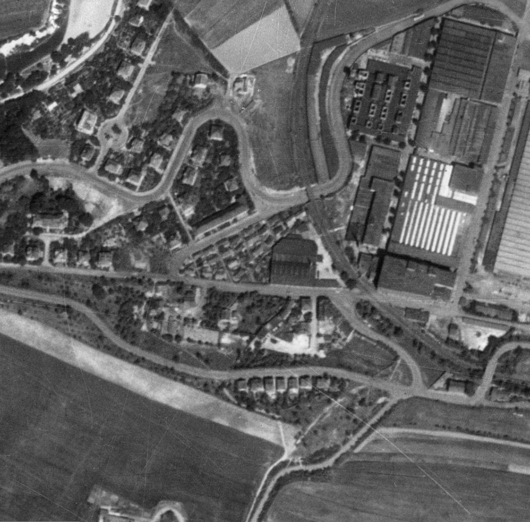 nouzova-kolonie-u-tresorie-letecky-snimek-1953