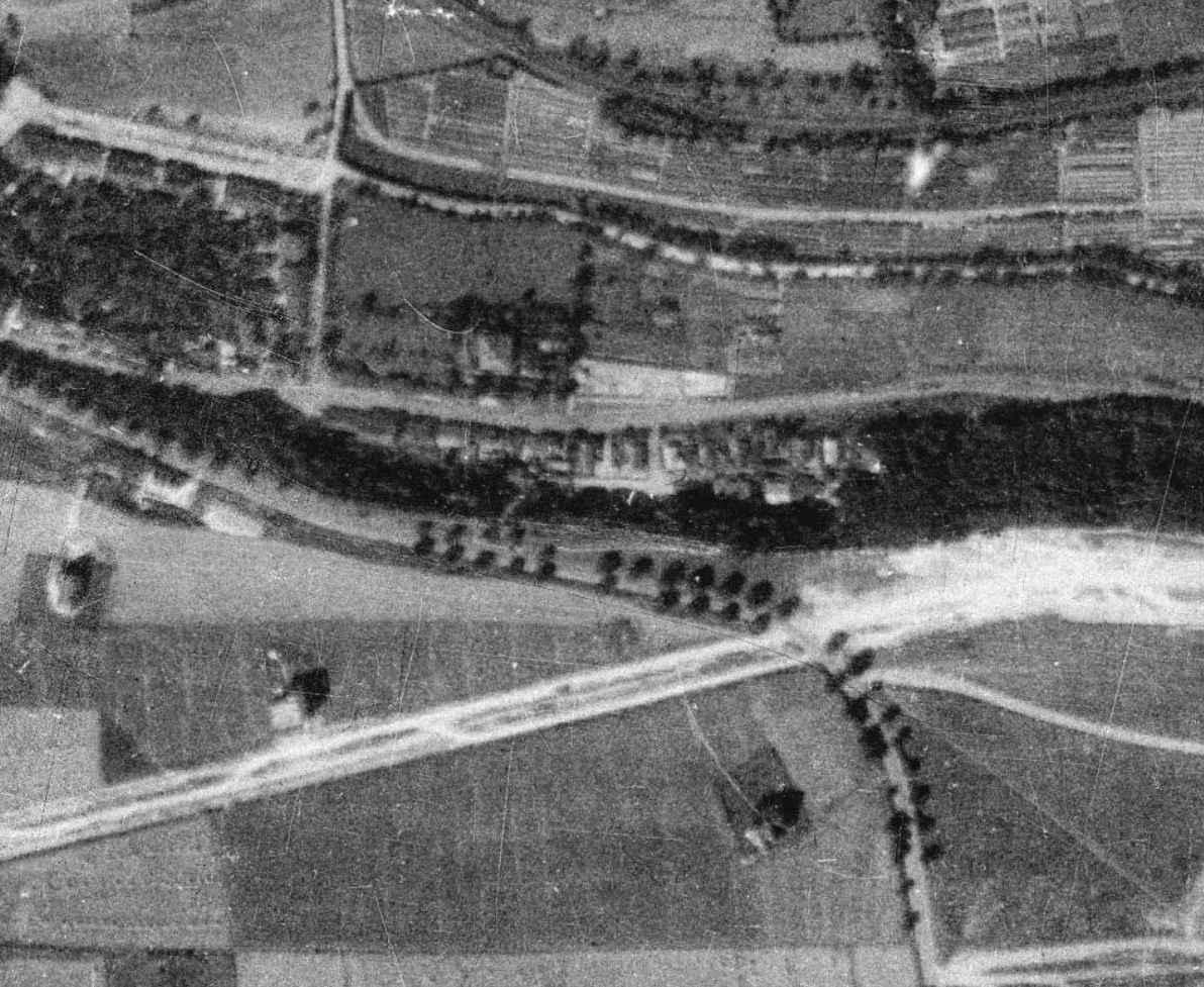 nouzova-kolonie-piskovna-veleslavin-letecky-snimek-1938