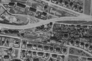 nouzova-kolonie-piskovna-stresovice-letecky-snimek-1945