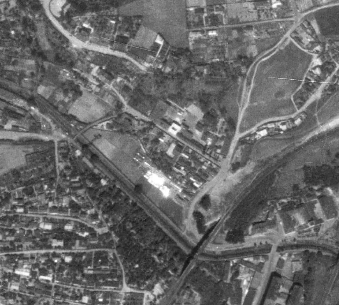 nouzova-kolonie-kliharka-letecky-snimek-1953