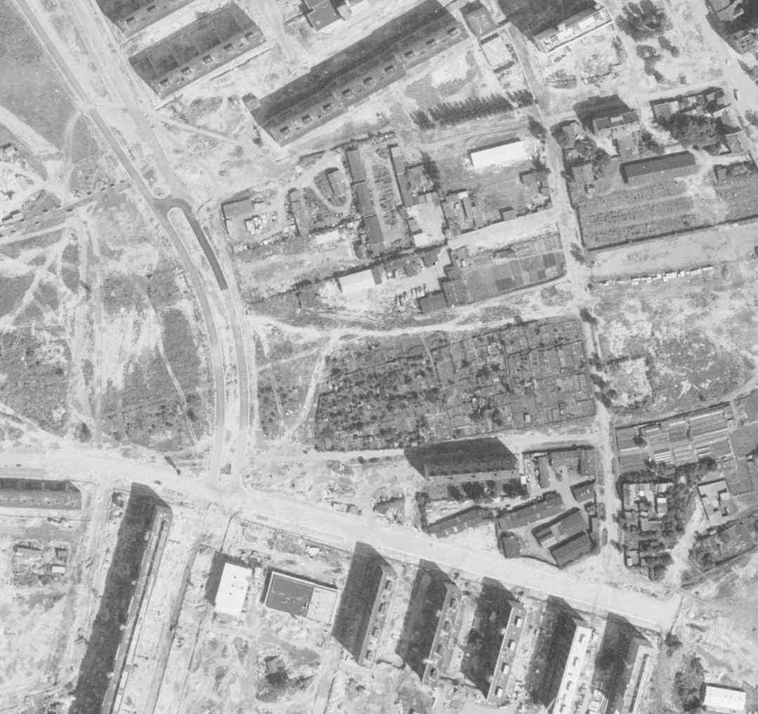 nouzova-kolonie-na-dekance-letecky-snimek-1966