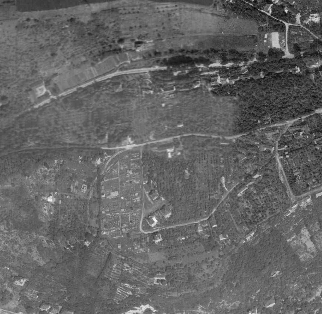 nouzova-kolonie-na-dlazdence-letecky-snimek-1966
