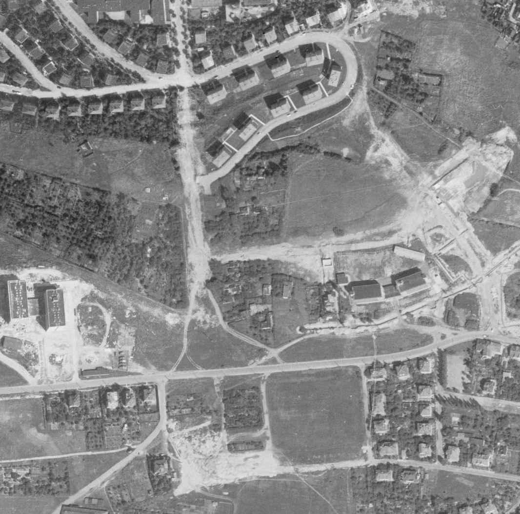 nouzova-kolonie-na-klinku-letecky-snimek-1966