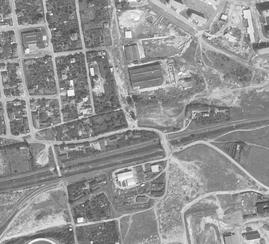 nouzova-kolonie-pod-jarovem-letecky-snimek-1966