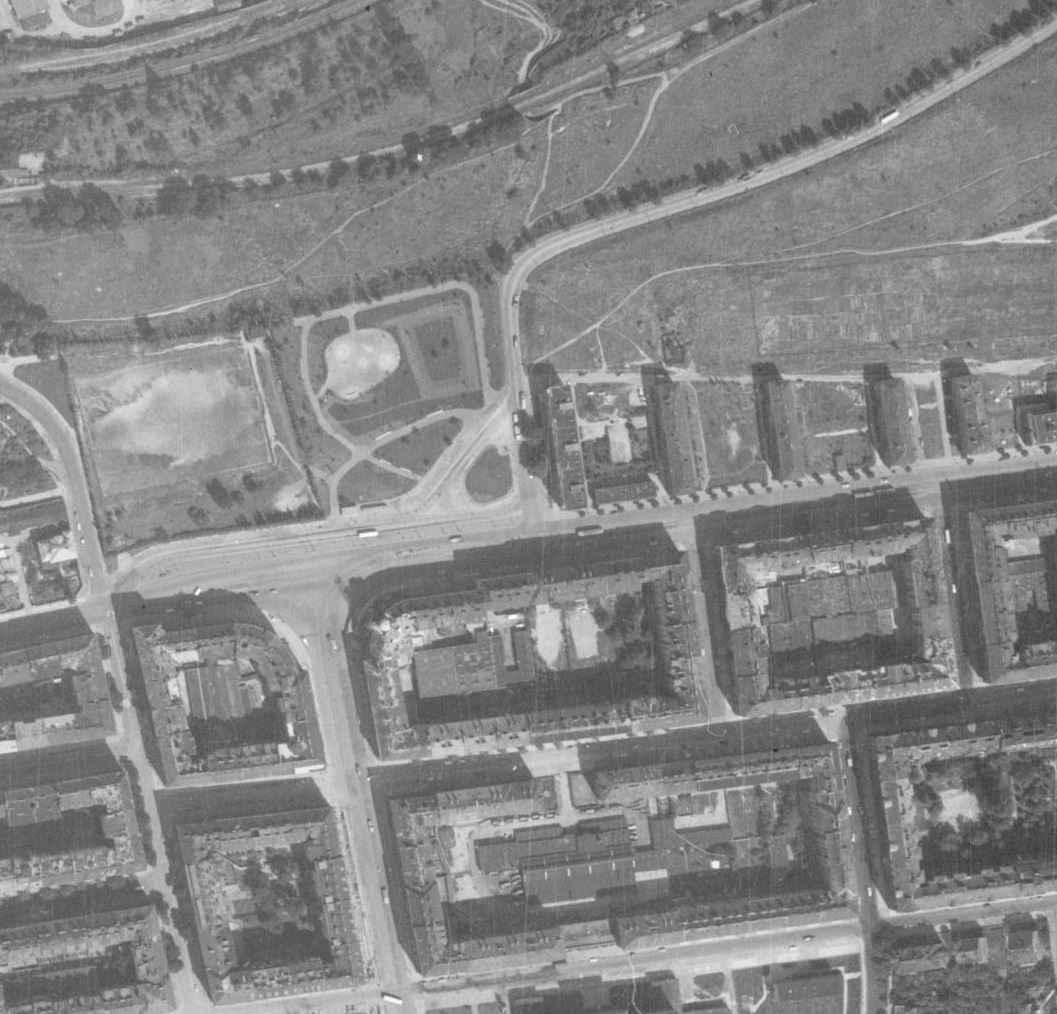 nouzova-kolonie-prazacka-letecky-snimek-1966