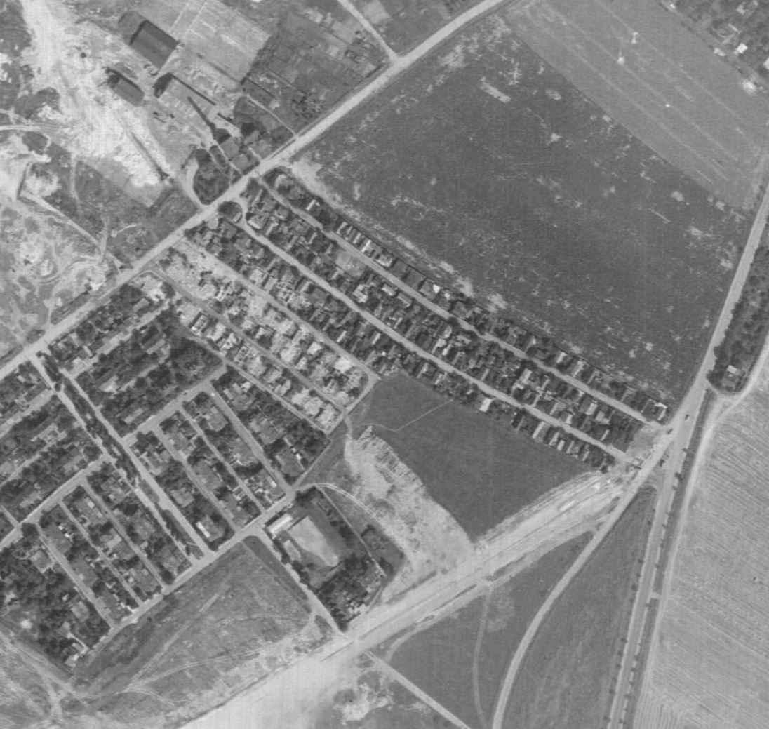 prosecka-nouzova-kolonie-letecky-snimek-1966