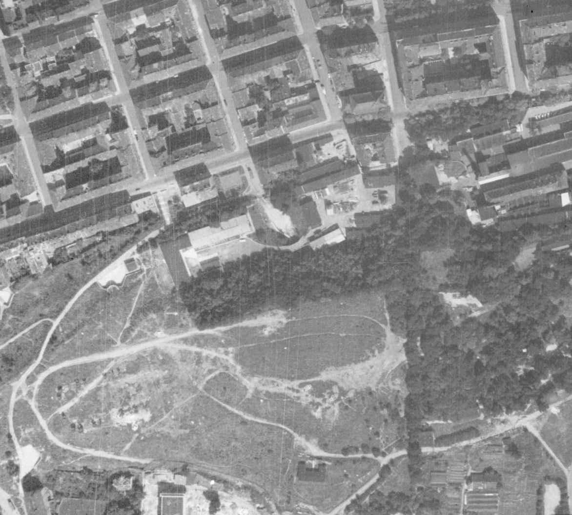 nouzova-kolonie-u-kapslovny-letecky-snimek-1966