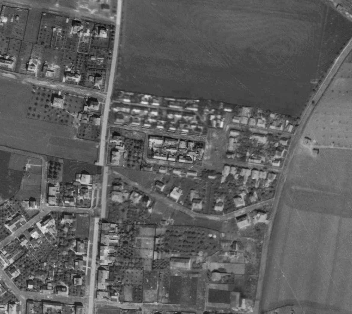nouzova-kolonie-nouzov-letecky-snimek-1945